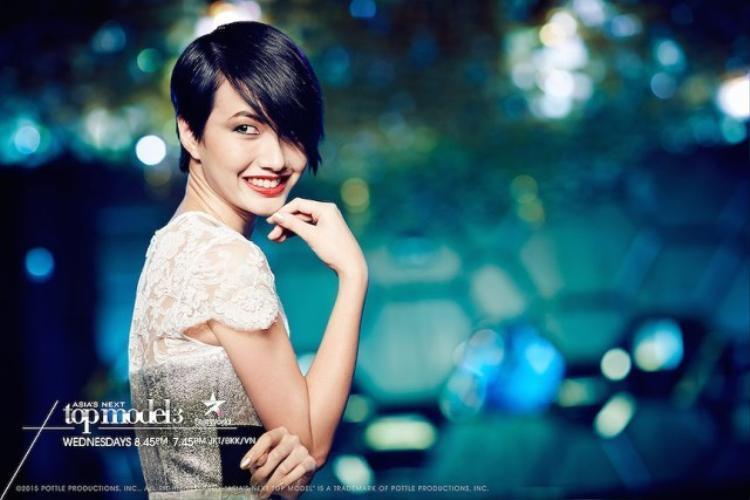 Melissa Tan, đại diện Malaysia dừng chân ở Top 8 AsNTM mùa 3.