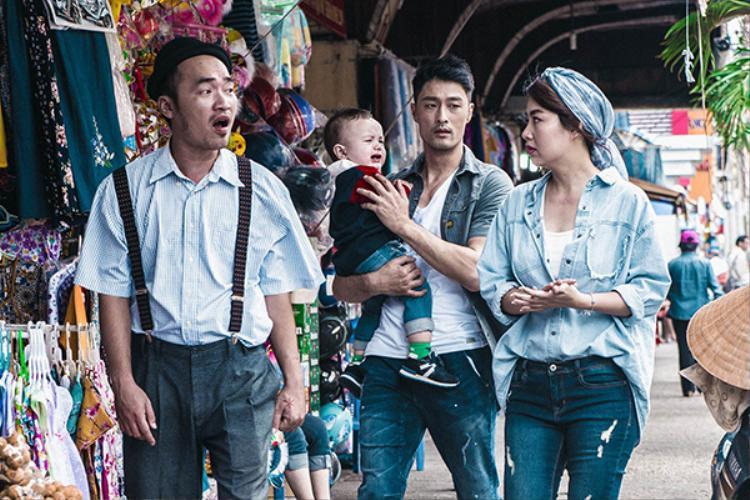 """Lê Khánh (phải) một lần nữa khiến khán giả """"cười cạn lời"""" trong tác phẩm mới."""