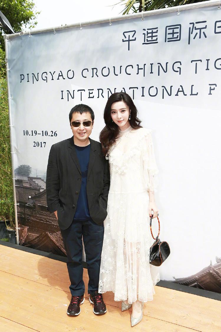 Côcùng đạo diễn Cổ Chương Kha, người sáng lập ra Pingyao International Film Festival.