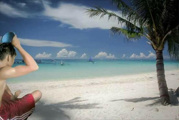 Ảnh chế hài hước về ước mơ đi biển của Rafael-nonog Gomez.