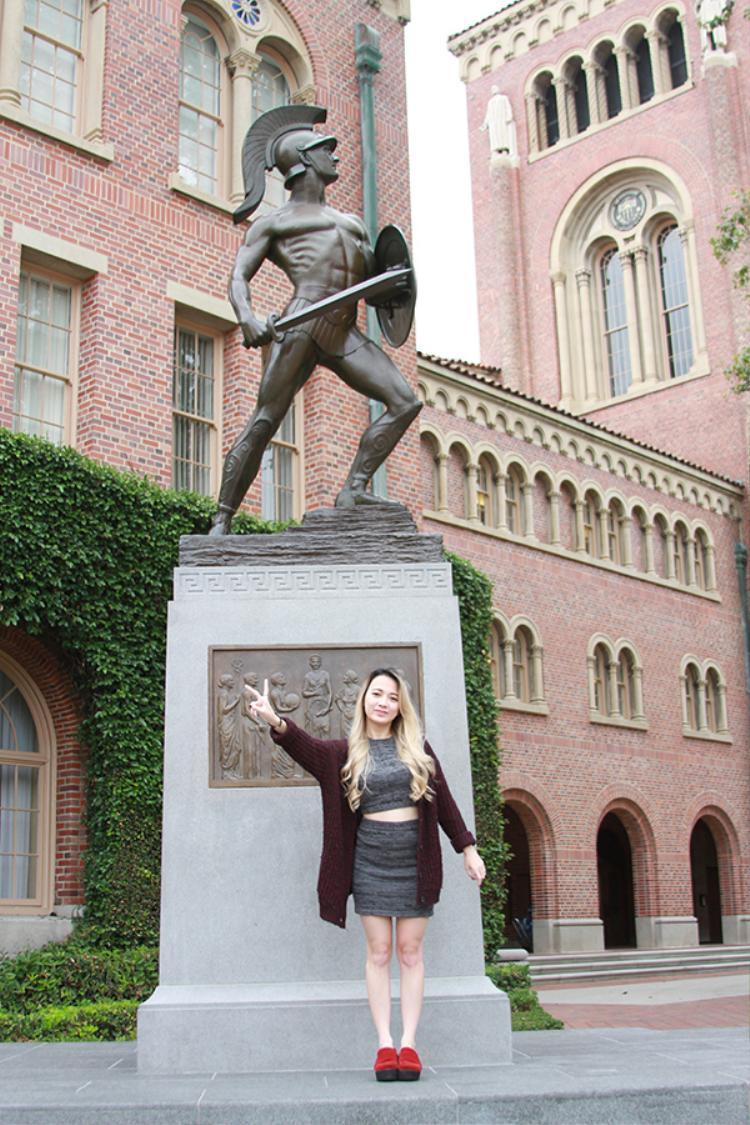 USC như là một quê hương của Xuân Nghi cũng như các bạn sinh viên khác vậy.