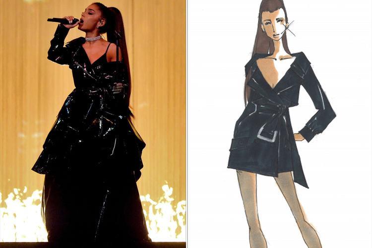 Những bộ trang phục của cả Ari lẫn vũ công được thực hiện bởi stylist riêng Law Roach và nhà thiết kế Bryan Hearns.