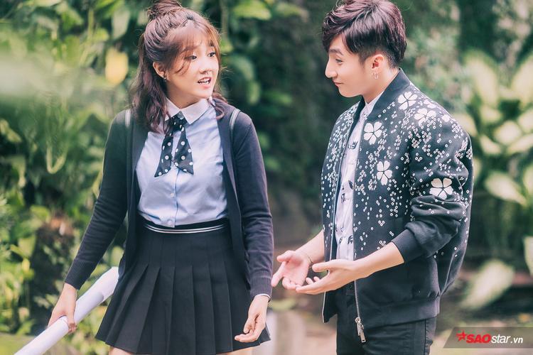 """Sơn Tùng và Kiều Trinh kết hợp ăn ý trong phim ngắn """"Âm bản""""."""
