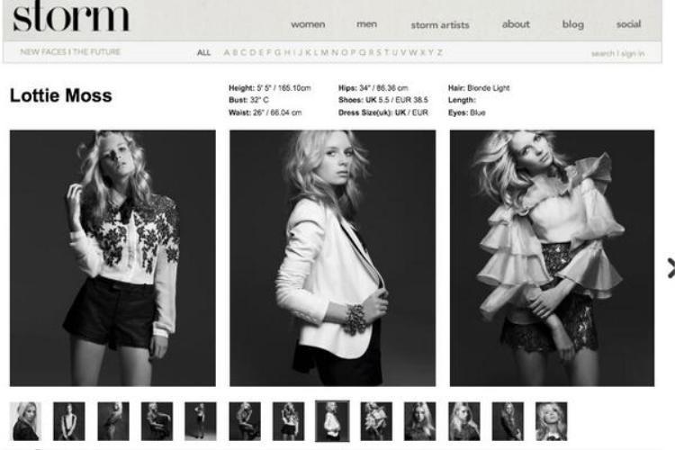 STORM Model là công ty quản lý người mẫu hàng đầu châu Âu có trụ sở tại London và được thành lập từ năm 1987.