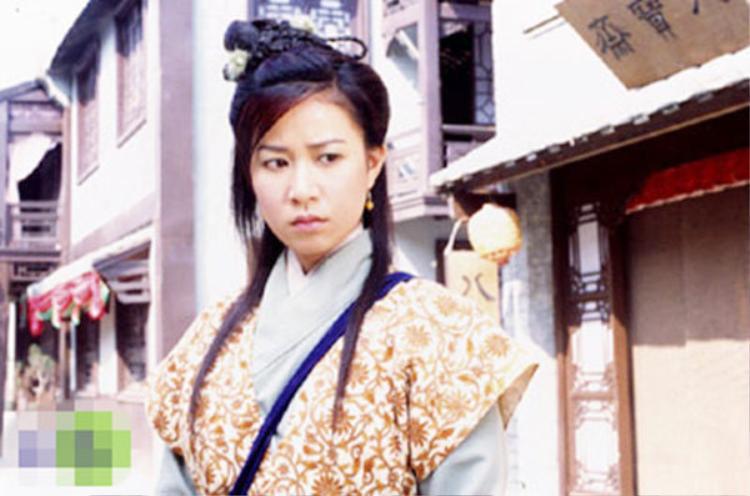 Xa Thi Mạn trong vai Trường Bình công chúa của tác phẩm cùng tên.