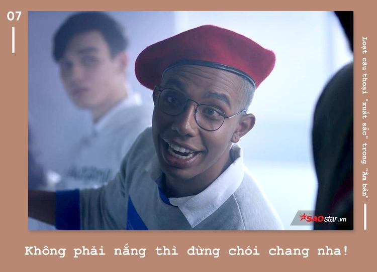 """Câu thoại ấn tượng nhất trong """"Em chưa 18"""" đã được đạo diễn Lê Thanh Sơn """"mượn"""" một chút mang sang """"Âm bản"""" rồi!"""