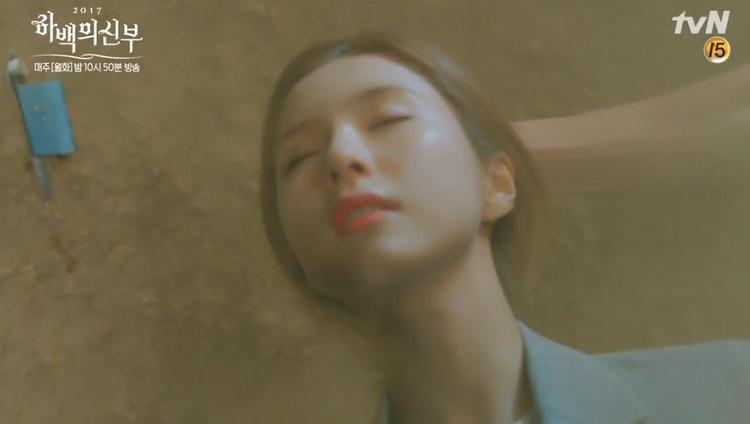 """Khoảnh khắc So Ah sắp chạm trán nam chính """"Cô dâu thủy thần""""."""