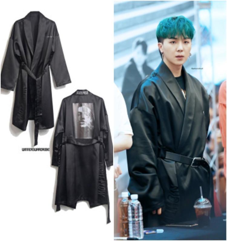Chiếc áo như áo ngủ này đã tiêu tốn của Song Mino 131 USD khoảng 3 triệu đồng.