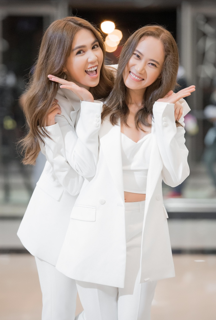 Ngọc Trinh và diễn viên - casscadeur Kim Dung (Mỹ Nhân Kế)