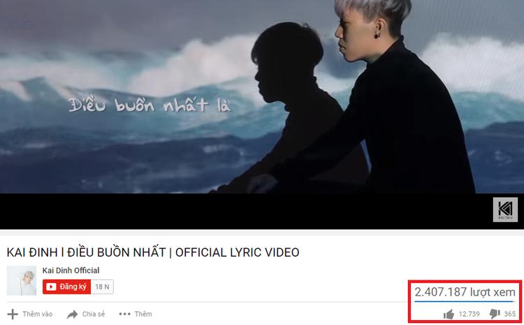 MV đạt hơn 2 triệu lượt xem đây cũng như bước đệm cho sự nghiệp sau này của anh chàng nhạc sĩ kiêm ca sĩ tài năng.