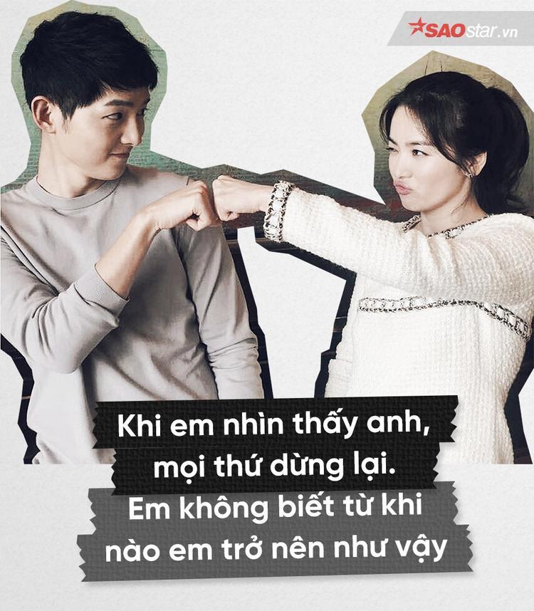 Phải chăng đây là những chất liệu gom góp tình yêu đong đầy của cặp đôi Song  Song?