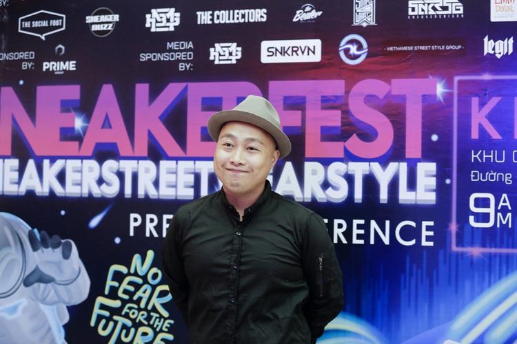 Quân Rapsoul - Trưởng BTC chương trình Sneaker Fest 2017