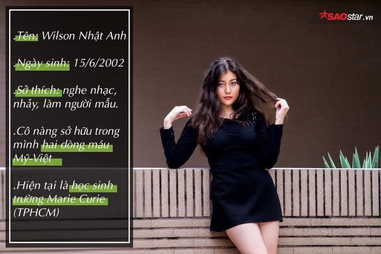 Wilson Nhật Anh: cô nàng 10X sở hữu vẻ đẹp lai xinh xắn cùng chiều cao 1m67