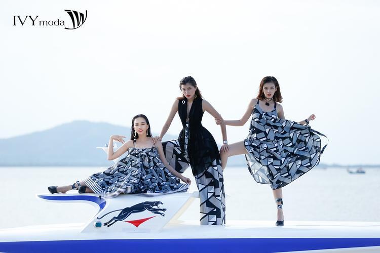 """Dưới sự chỉ dạy tận tâm và nỗ lực không ngừng nghỉ hi vọng các cô gái Thiên Nga, Trúc Anh và Ánh Quỳnh sẽ giữ vững phong độ ở thử thách """"Chụp hình trên du thuyền."""""""