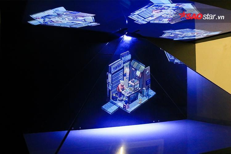 Mô hình hologram đặc sắc