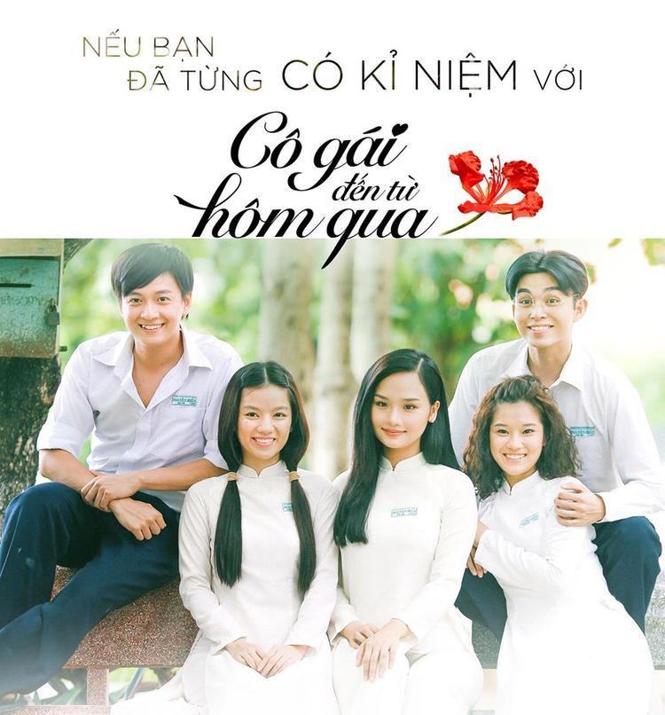 Dàn diễn viên trẻ sáng giá của Cô gái đến từ hôm qua: Ngô Kiến Huy, Hạ Anh, Miu Lê, Hoàng Yến, Jun Phạm.