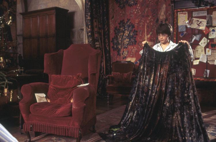 Áo choàng tàng hình trong phim Harry Potter…
