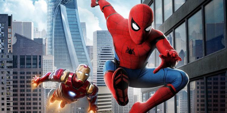 """Spider-man """"qua mặt"""" người thầy Iron Man ngày trong lần đầu ra mắt ở Marvel Cinematic Universe."""