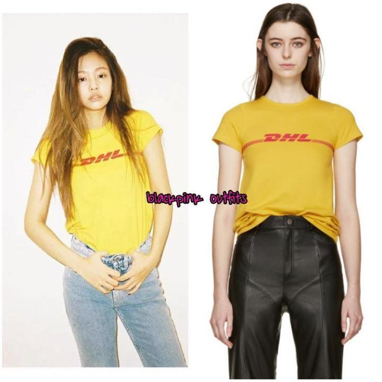 Cô nàng rất thích những mẫu thời trang năng động của thương hiệu này, chiếc áo T-Shirt 335 USD đã được tậu nhanh chóng.
