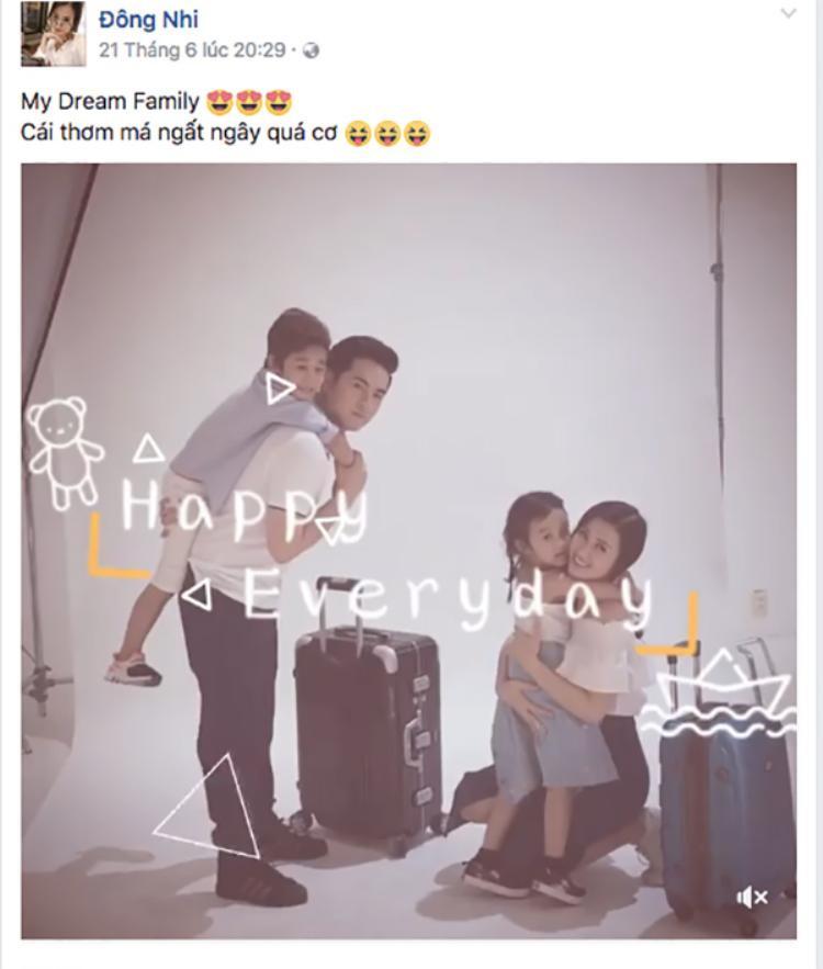 Clip do Đông Nhi đăng tải trên Facebook khiến cô nhận được nhiều lời giục cưới từ fan.