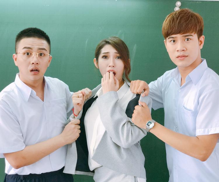 Khổng Tú Quỳnh cũng trở lại qua web-drama của Duy Khánh.