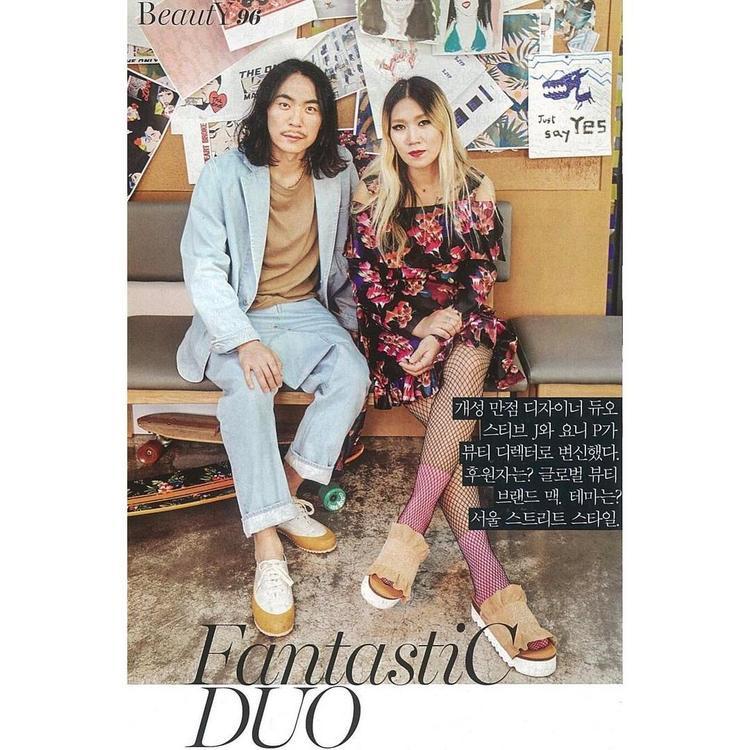Ypni Pai xuất hiện trên tạp chí Vogue Korea.