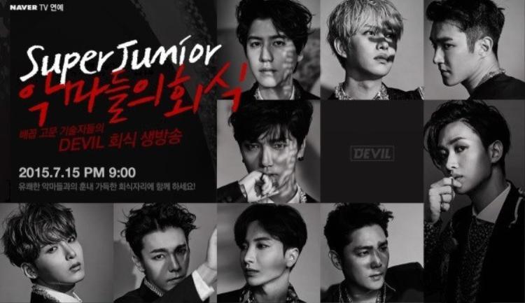 Các chàng trai Super Junior đang lên kế hoạch chuẩn bị phát hành album tái xuất thứ 11.