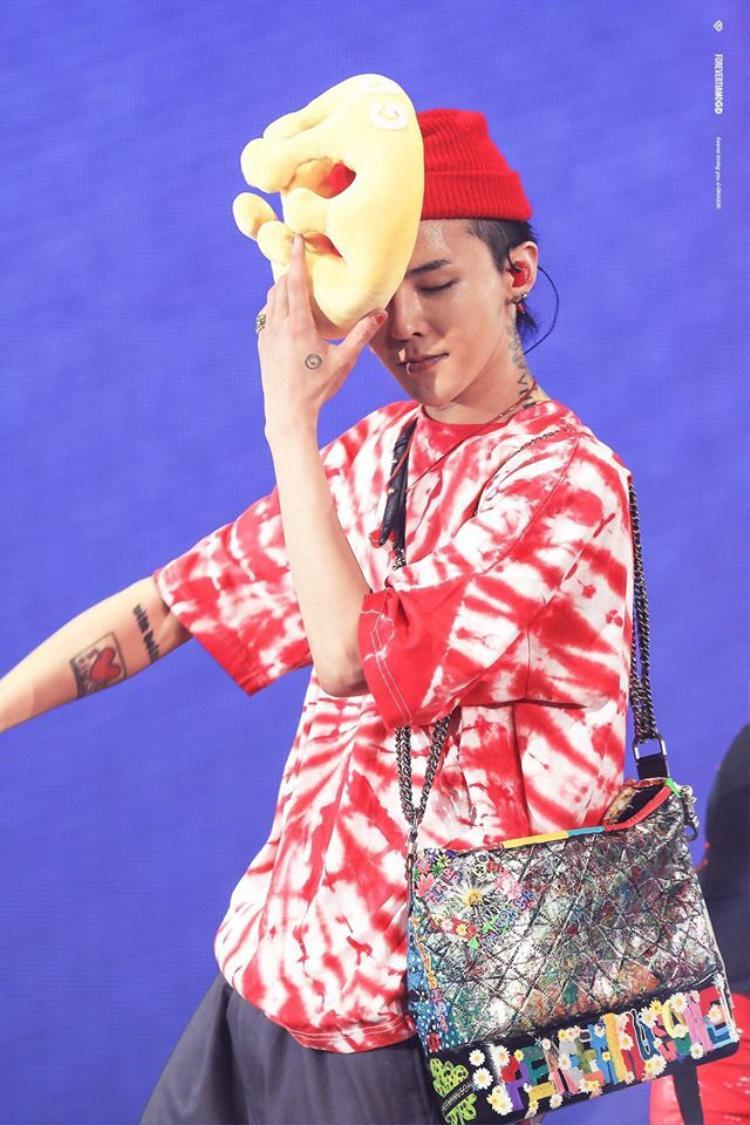 G-Dragon đáng yêu hết cỡ trong concert tại Thái.