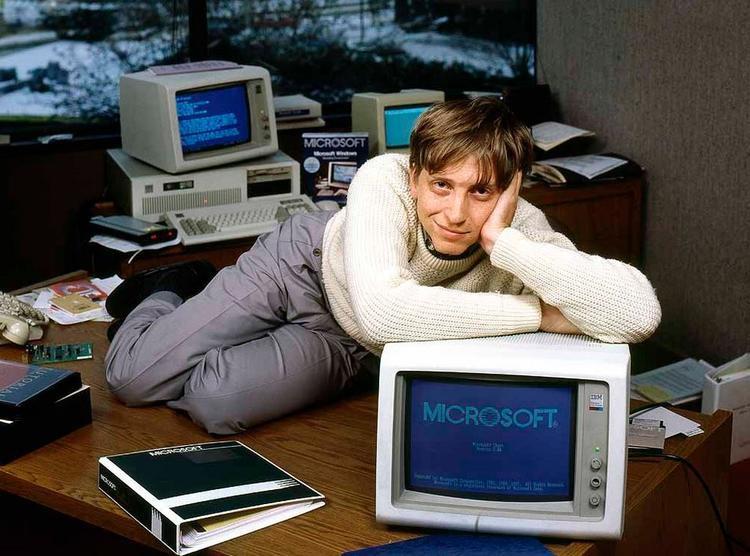 Bill Gates nhận ra đam mê của mình sau một kì thực tập.