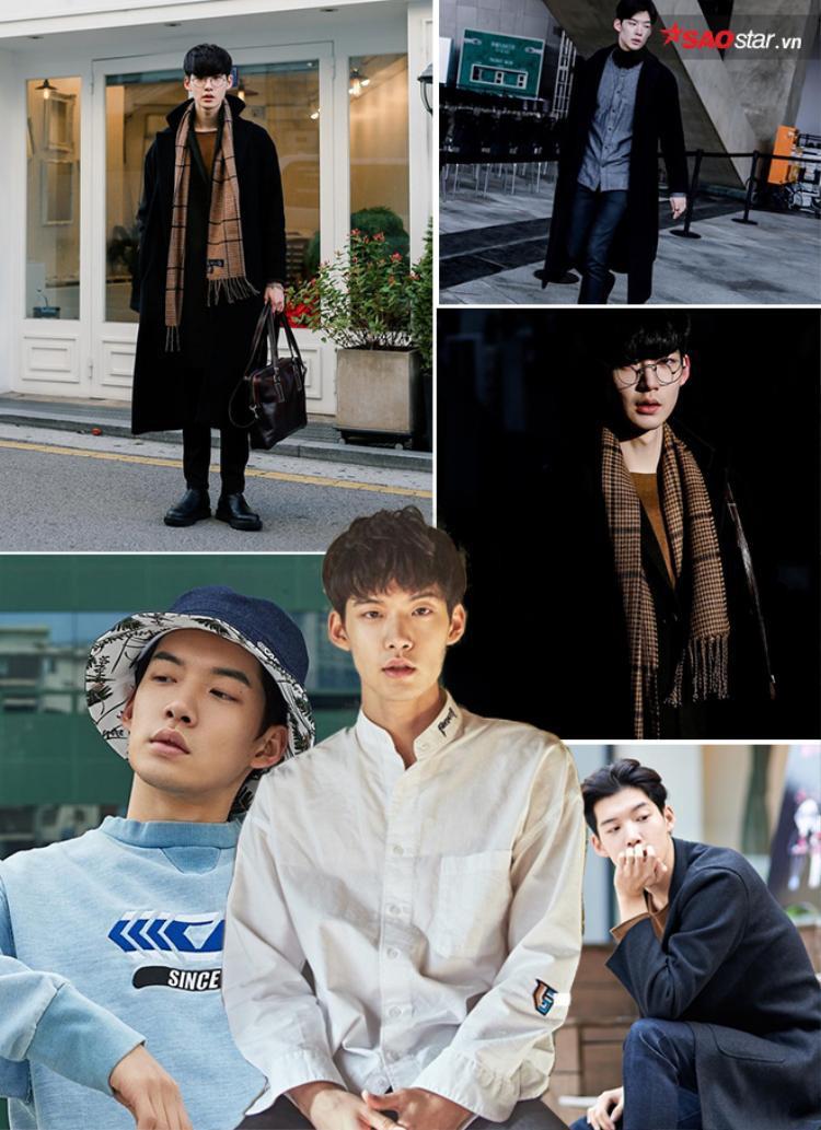 Với chiều cao lí tưởng và khuôn mặt lạnh lùng, Chan Kyu đã từng tham gia vào khá nhiều buổi chụp hình với vai trò người mẫu.