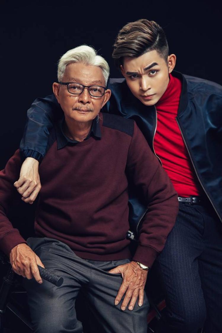 Jun và bố.
