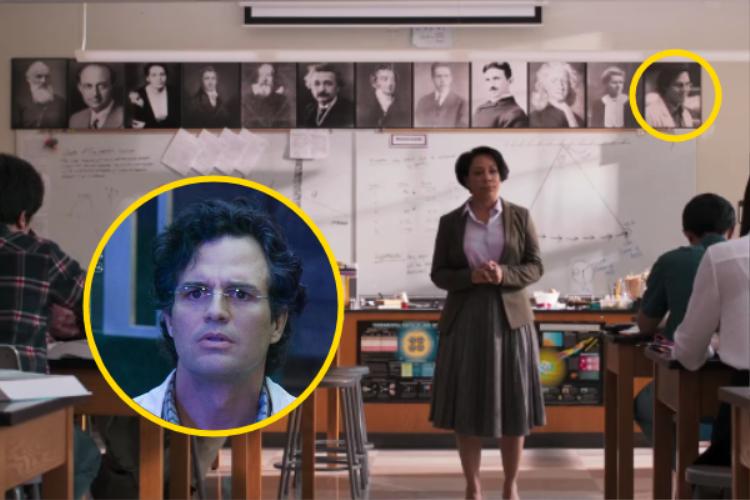 """Bruce Banner """"khéo léo"""" góp mặt trong phim."""