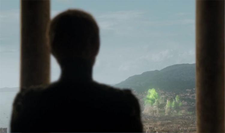 Cersei phá hủy tòa nhà nơi nhà Tyrell đang ở bên trong.