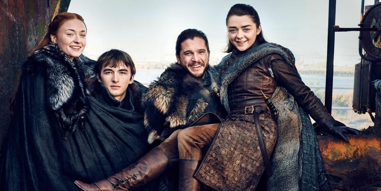 Sansa, Bran, Jon và Arya