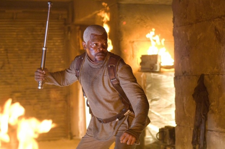 Bộ phim có sự tham gia của Samuel Jackson đã gặp tai nạn chết người.