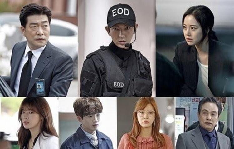Dàn diễn viên đều là những cái tên đầy thực lực của nền điện ảnh Hàn Quốc.