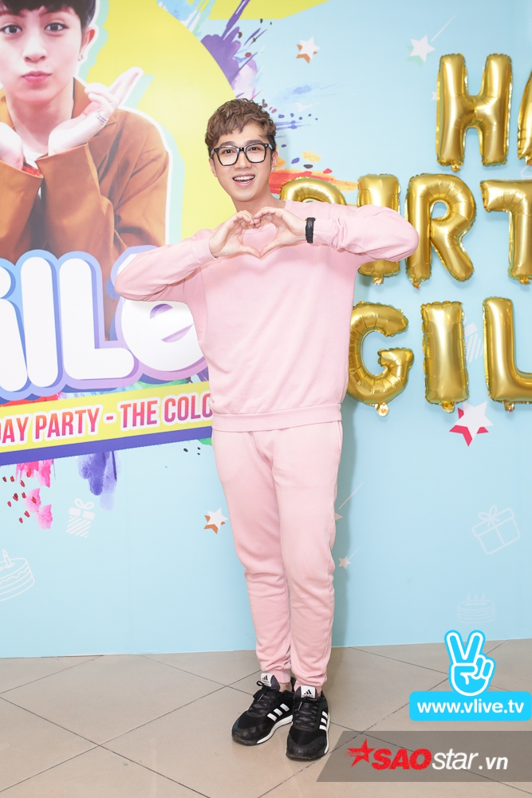 MC Minh Xù sẽ dẫn dắt buổi offline mừng sinh nhật Gil Lê.