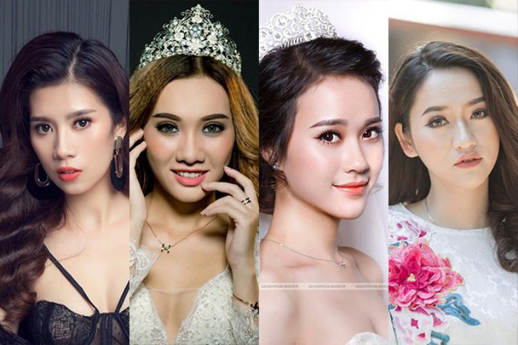 Vẻ đẹp thương hiệu quy tụ nhiều thí sinh đã từng đạt thành tích cao trong các cuộc thi nhan sắc lớn như Yến Nhung, Hồng Tú, Mai Phương, Hồng Ngọc…