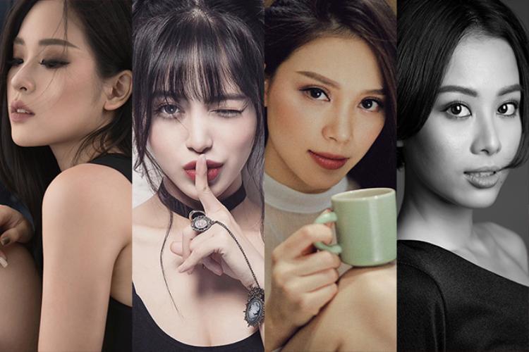 Những hotgirl tài năng như Tuyền Tăng, Linh Tây, Linh Rin, Trang Anna luôn nằm trong top thí sinh được quan tâm nhiều nhất.