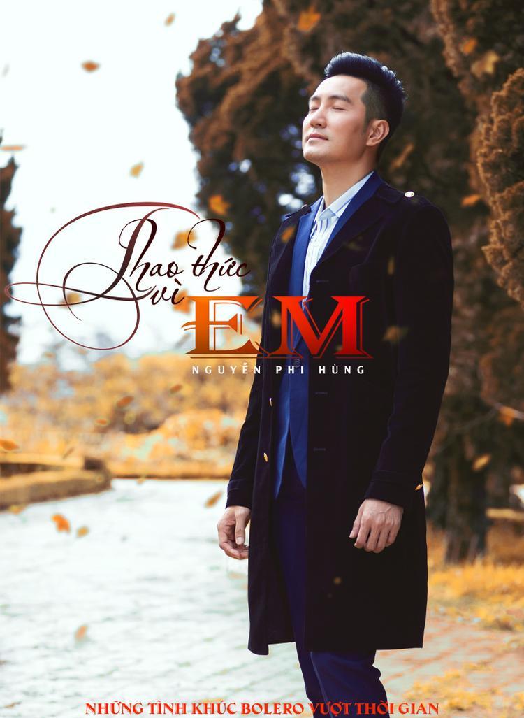 Hình ảnh Nguyễn Phi Hùng trong album mới.