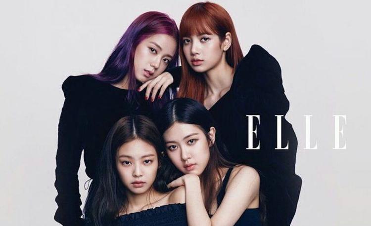 Black Pink trở thành nhóm nhạc nữ đầu tiên của K-pop lên bìa tạp chí Elle