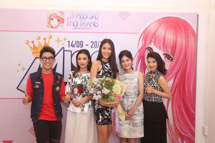 Top 3 Miss Ngôi Sao Thời Trang 360mobi 2016: Linh Chi - Ngọc Lan - Kim Chi.
