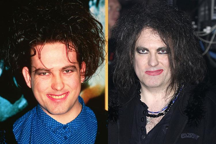 Với lối trang điểm ngày càng kinh dị, nhan sắc của ngôi sao nhạc rock người Anh - Robert Smith ngày càngkhiến người khác phải khiếp sợ.