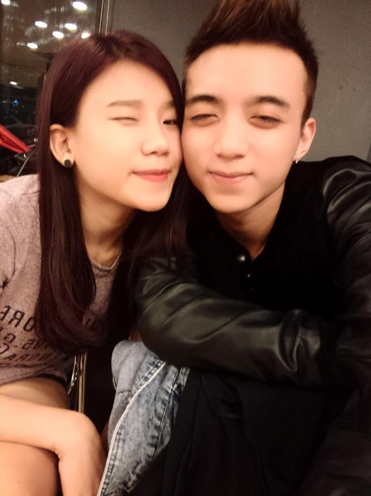 Cặp đôi quen nhau trong cuộc thi Ngôi sao Việt.