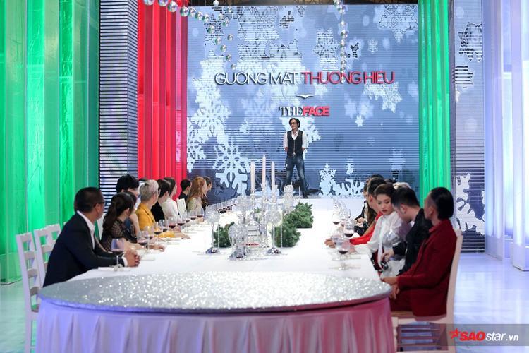 Hàng loạt những khách mời xuất hiện trên bàn tiệc của The Face.