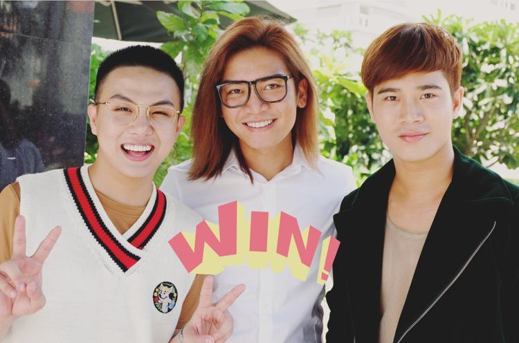 Duy Khánh, BB Trần và Trần Phong.