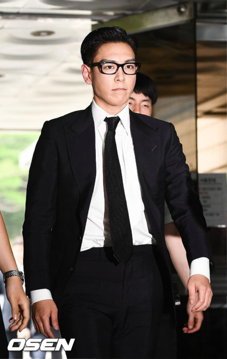 T.O.P nhận án phạt chính thức trong phiên tòa xét xử cuối cùng