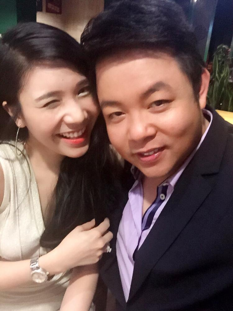 Dù hẹn hò 2 năm nhưng Quang Lê chưa nghĩ tới việc cưới Thanh Bi.