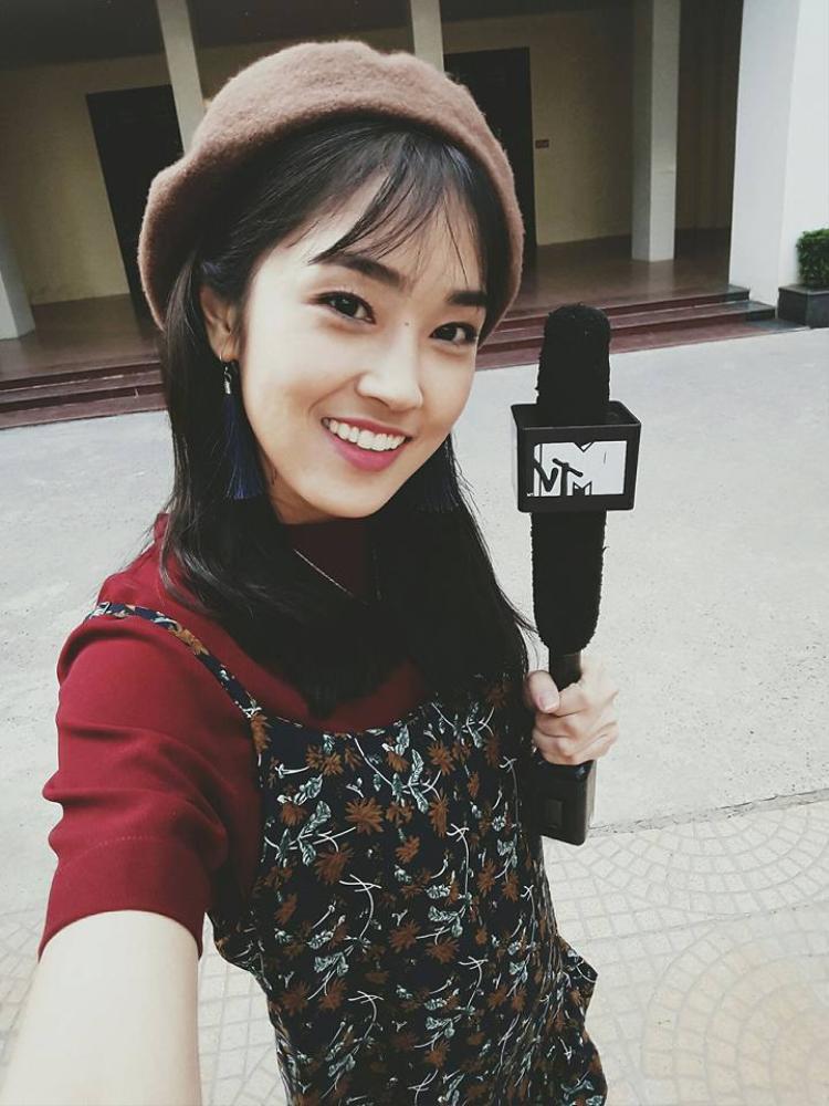 Hình ảnh tươi trẻ của cô nàng VJ Misoa Kim Anh.