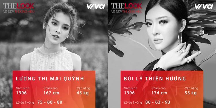 """Không quá nổi bật nhưng đầy tiềm năng, Mai Quỳnhvà Thiên Hương là hai """"ẩn số"""" cuộc thi."""